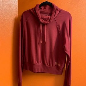 Victoria Secret Sport Crop Cowl Neck Hoodie